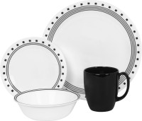 Corelle India Impressions Pack Of 16 Dinner Set (Glass)