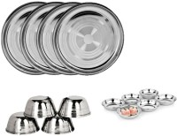 Sssilverware SSS-SI-14pcs Pack Of 14 Dinner Set (Stainless Steel)