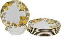 Azure High Quality Designer Dinner Set (Porcelain) - DNSE7GP3AZVCERDC