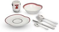 Arttdinox Pack Of 4 Dinner Set (Ceramic)