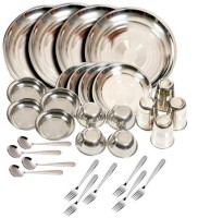 Sssilverware SS-Di-SE-32 Pack Of 32 Dinner Set (Stainless Steel)