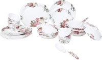 Sharewell Floral Dinner Set Pack Of 40 Dinner Set (Melamine)