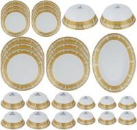 Azure Pack Of 27 Dinner Set (Ceramic)