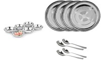 Sssilverware SSS-DI-SET-14 Pack Of 14 Dinner Set (Stainless Steel)