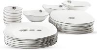 Arttdinox Heritage Pack Of 21 Dinner Set (Ceramic)