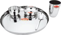 Classic Steels CLASSIC STEELS 5PC EXCLUSIVE DINNER SET Pack Of 5 Dinner Set (Stainless Steel)