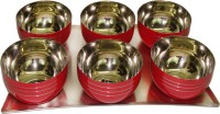 King International Pack Of 7 Dinner Set (Stainless Steel)