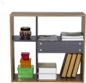 Style Spa Engineered Wood Display Unit (Finish Color - Natural)