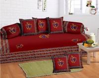 Lali Prints Cotton Floral Diwan Set - DSTEB2UV2U3BS7EK