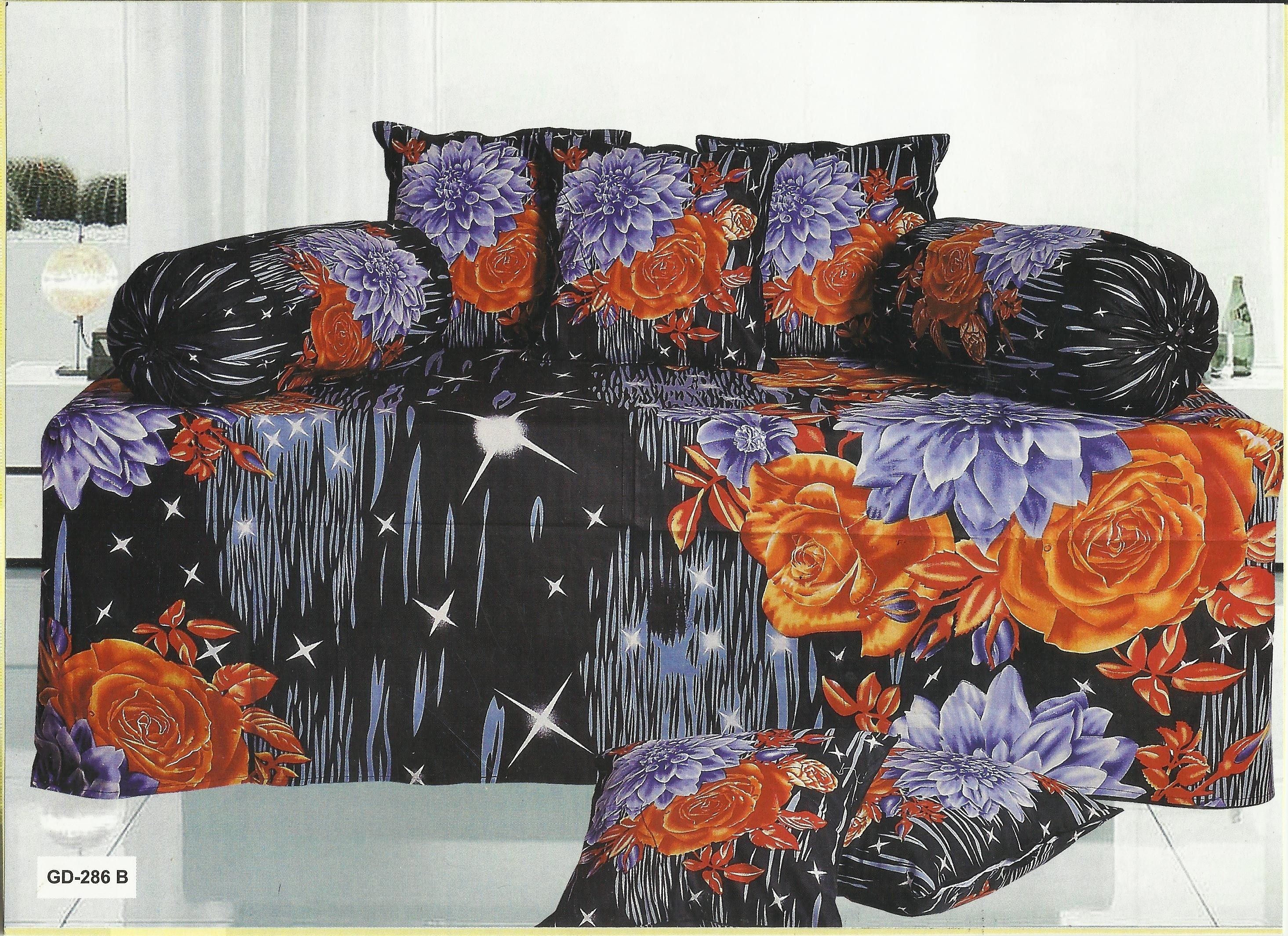 Looms of india majestic diwan bed sets single bed cotton for Single bed diwan set