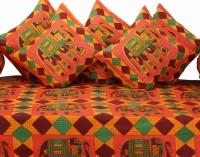 GRJ India Cotton Printed Diwan Set - DSTE88GRDP5MHDMZ