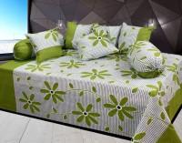 JBG Home Store Cotton Floral Diwan Set - DSTEBTRXWEZWNFAJ