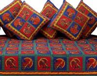 GRJ India Cotton Printed Diwan Set - DSTE88GQJFFMDWYZ