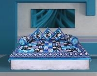 GRJ India Cotton Printed Diwan Set - DSTE7VHEPG6KHZZD