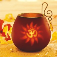 Borosil Decorative Tea Light Candle (Red, Pack Of 1)
