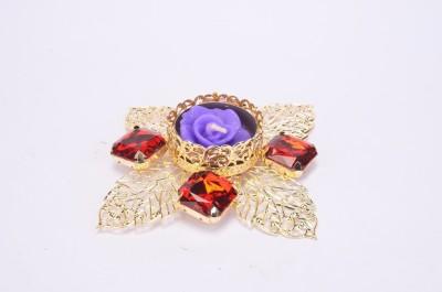 Shrisay Ventures Diwali Cut Leaf Shape Red Stone