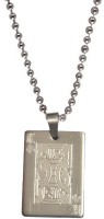 Men Style New Design King Engraved Silver Dog Tag