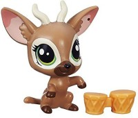 Littlest Pet Shop Get The Pets Single Pack Bongo Brill Doll (Multicolor)