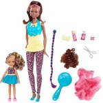 Barbie Dolls & Doll Houses Barbie So In Style Locks Of Looks Kara And Kianna