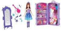 Barbie The Princess And The Popstar Mini-Doll Scene Keira Doll (Multicolor)