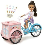 Moxie Girlz Ice Cream Bike With Sophina (Multicolor)