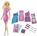 Barbie Design And Style Doll - Multicolor
