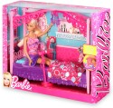 Mattel Barbie Glam Bedroom Furniture And Doll Set - X7941 - Multicolor