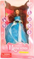 RIANZ RIANZ Beautiful Remote Control Intelligent Princess Dancing, Singing And Moving Doll With Lot Of New Features (Blue) (Blue)