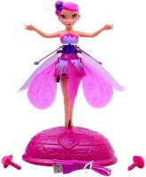 New doll flutterbye flying fairy doll flower best deals with price smiles creation flying fairy doll pink mightylinksfo