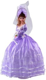 Rvold Dolls & Doll Houses Rvold Cute Purple Dancing Musical Umbrella Doll