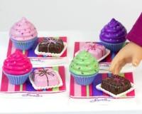 Sophia's 18 Inch American Pretend Play Food 8 Pc Set Of 4 Cupcakes4 (Multicolor)