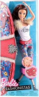 Barbie Dolls & Doll Houses Barbie Fashionista Doll Teresa