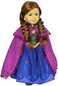 CNACCASU Anna Princess Dress 3Pc Vest Skirt Cloak Outfit For 18