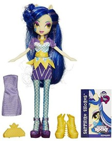 My Little Pony Equestria Girls Rainbow Rocks Sapphire Shores With Fashions