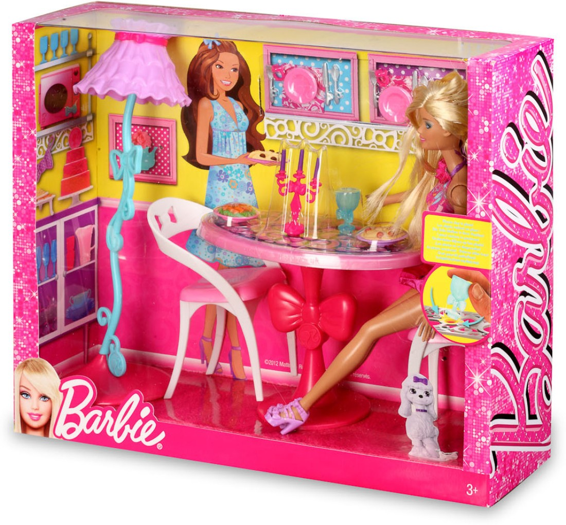 Barbie Dollhouse Furniture Kitchen Sets House Design And