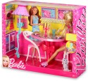 Mattel Barbie Glam Dining Room Furniture and Doll Set - X7942 - Multicolor