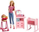Barbie Dolls & Doll Houses Barbie Babysitter Playset