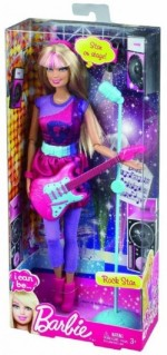 Barbie Dolls & Doll Houses Barbie Today I Can Be A Rockstar