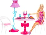 Barbie Dolls & Doll Houses Barbie Glam Dining Room