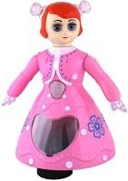 SMT 3D Light Music Dancing Girl Robot Gift Toy For Kids (Multi-color) (Multicolor)