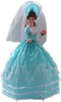CP BIGBASKET Beautifull Musical Umbrella Doll -Blue- 24 Inch Toy For Kids (Blue)