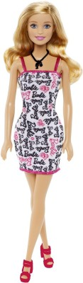 Barbie Dolls & Doll Houses Barbie Black and White Dress