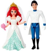 Mattel Dolls & Doll Houses Mattel Disney Princess Little Kingdom Magiclip Ariel Fairytale