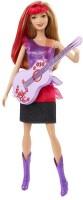 Barbie Rock And Royals Doll - Purple (Purple)