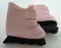 DollsHobbiesNmore Pink Roller Blades For American Girl (Pink)