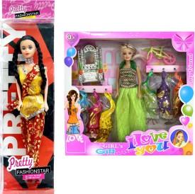 Amaya Pretty Fashion Doll50 SET of 2