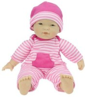 JC Toys La Baby 11-inch Asian Washable Soft Body Play Doll For Children 18 Months Or Older, Designed By Berenguer (Multicolor)