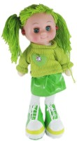 A Smile Toys & More Doll With Music, Light & Eye Rolling (Green)