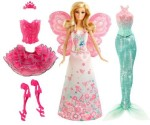 Barbie Dolls & Doll Houses Barbie Fairytale Mix And Match Dress Up Playset