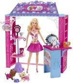 Barbie Dolls & Doll Houses Barbie Shops with Doll Pet Boutique